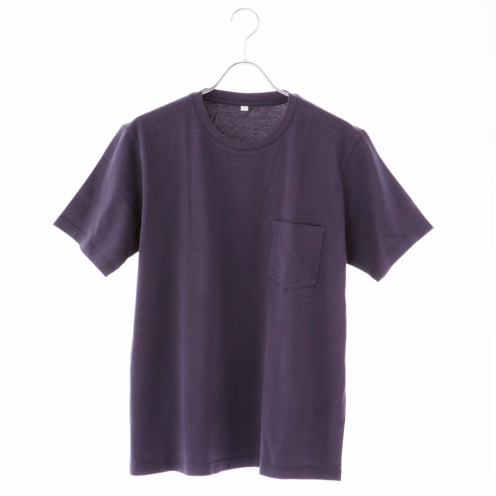 オーガニックコットン 天竺無地クルーTシャツ