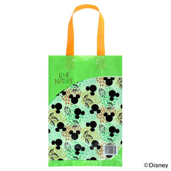 ディズニー リサイクル原料を使った買い物袋