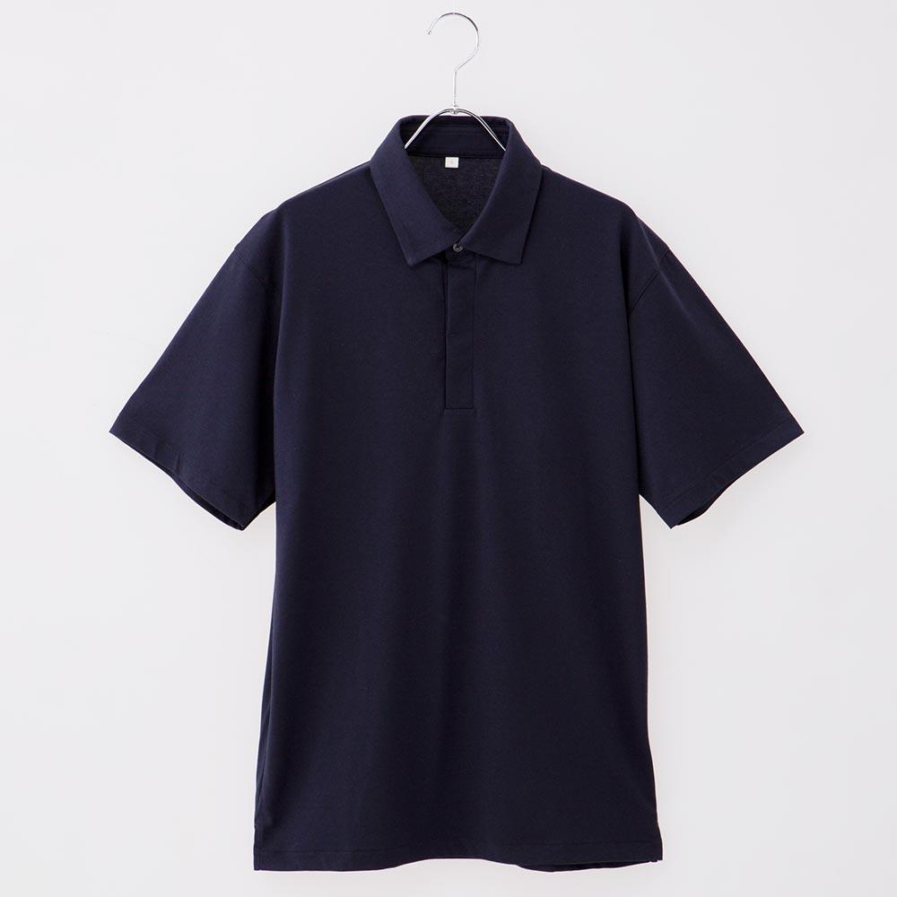 PEACE FIT SilkyFact 台衿仕様レギュラー衿ポロシャツ