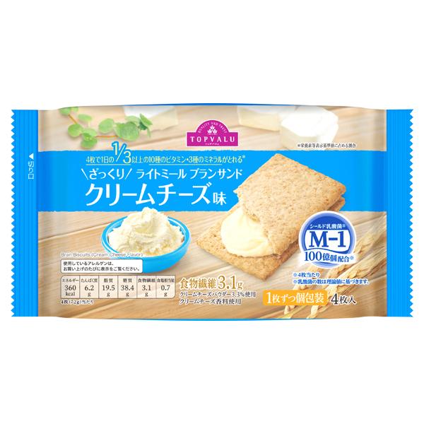 ざっくり ライトミール ブランサンド クリームチーズ味