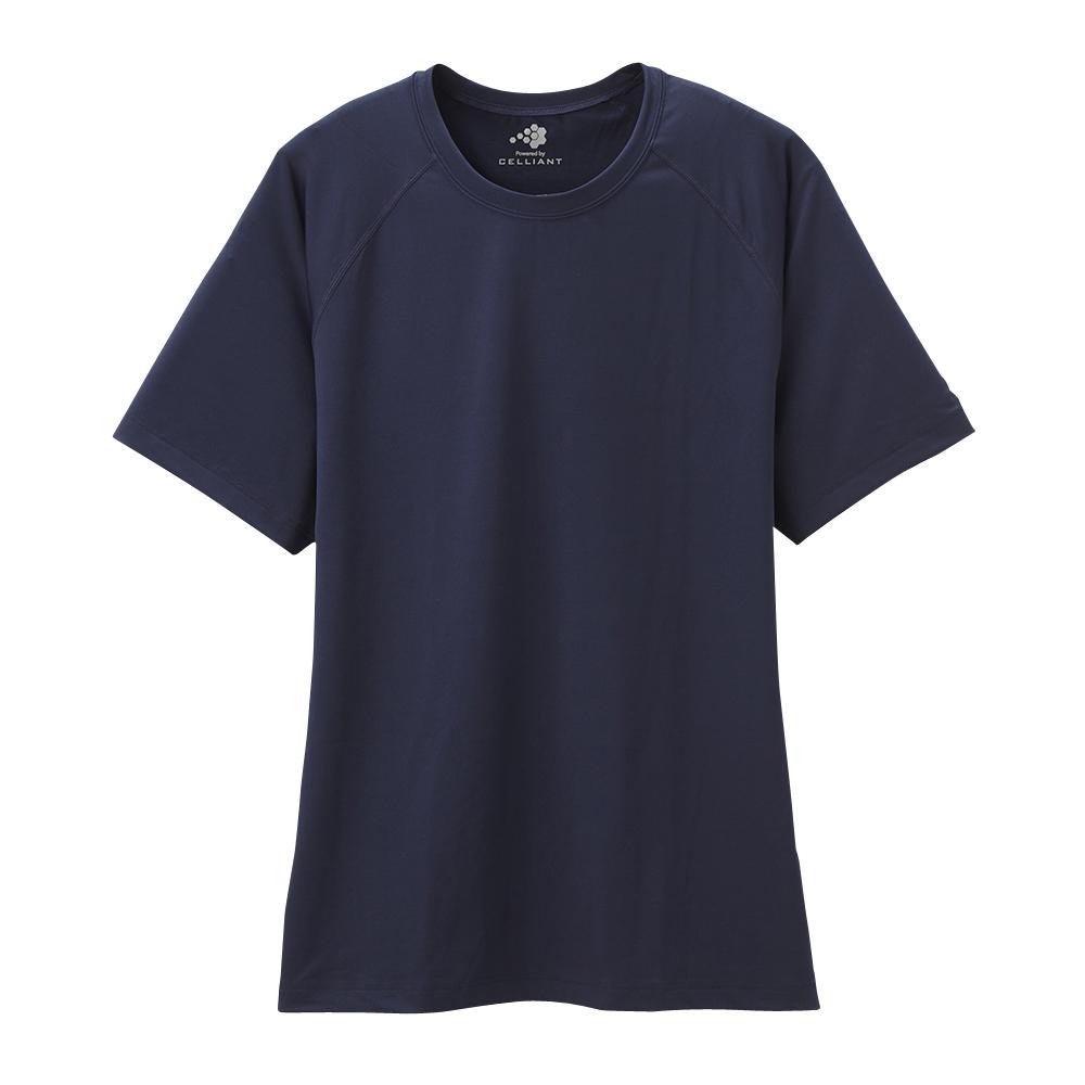 セリアント 半袖Tシャツ ストレッチ ラグランスリーブ