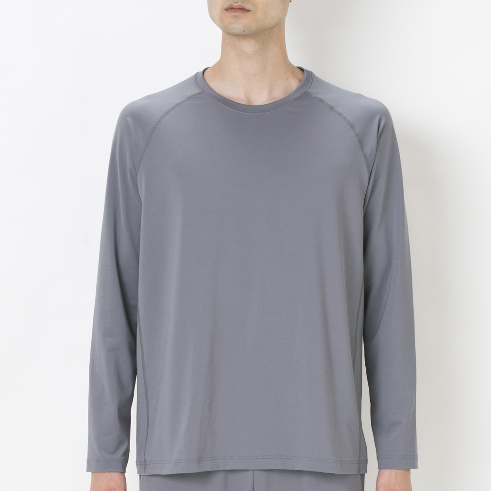 セリアント 長袖Tシャツ ストレッチ ラグランスリーブ 商品画像 (0)