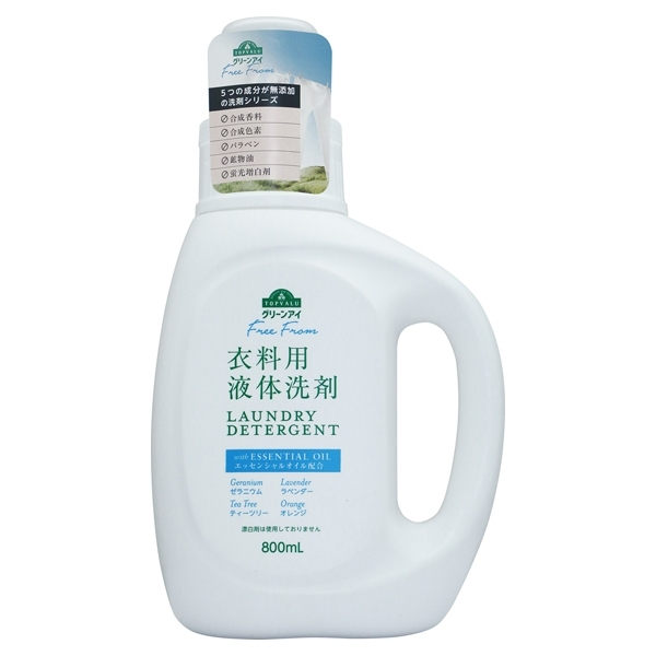 Free From 衣料用液体洗剤 LAUNDRY DETERGENT