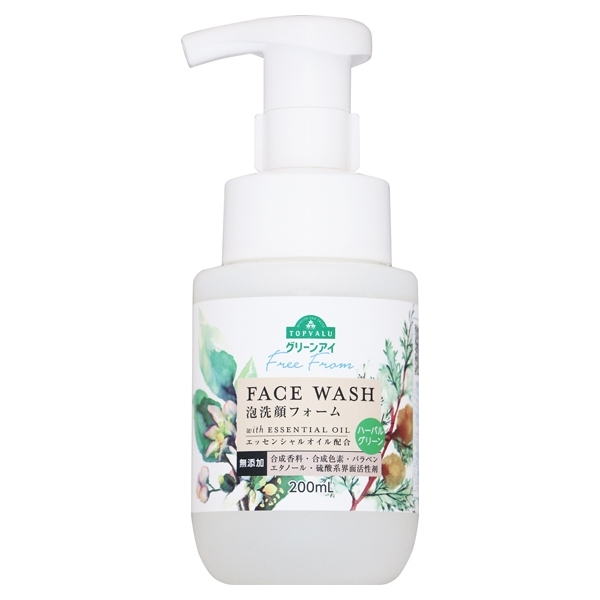 Free From FACE WASH with ESSENTIAL OIL ハーバルグリーン 商品画像 (メイン)