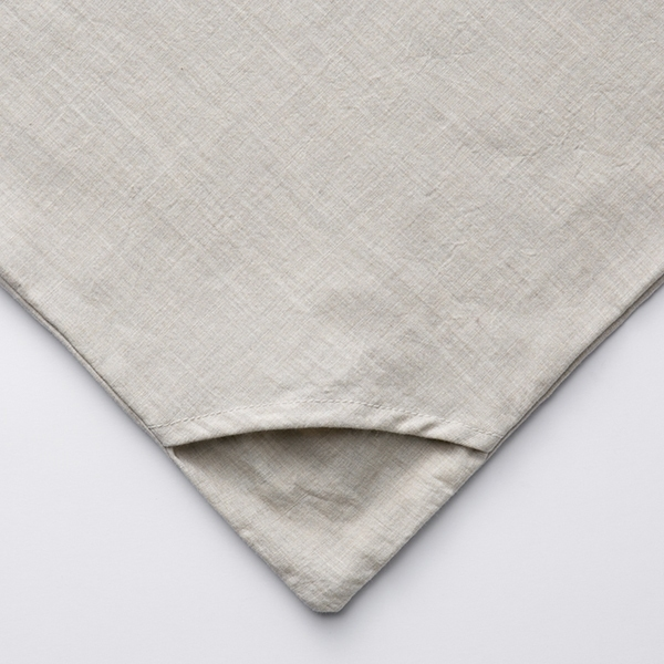 オーガニックコットン 掛ふとんカバー わた染水洗い HOME COORDY 商品画像 (1)