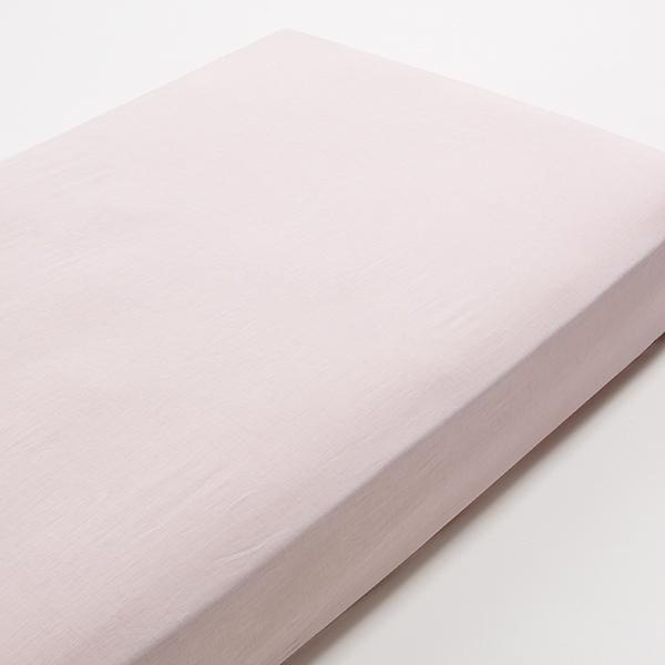 HOME COORDY オーガニックコットン ベッド用ワンタッチシーツ わた染水洗い