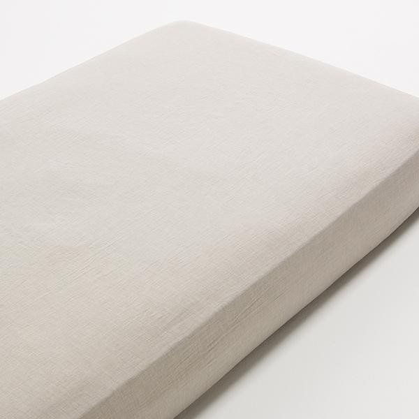 オーガニックコットン ベッド用ワンタッチシーツ わた染水洗い HOME COORDY 商品画像 (メイン)