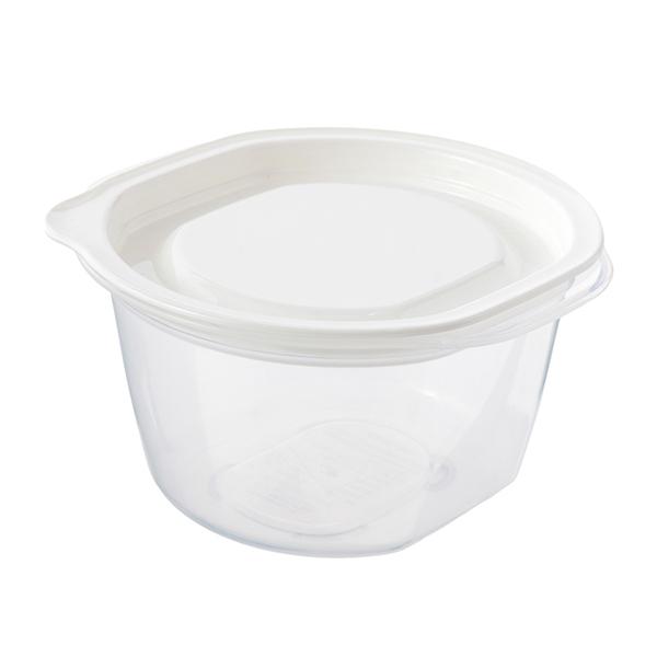 HOME COORDY そのままレンジ保存容器 ご飯一膳用 4個入 商品画像 (1)