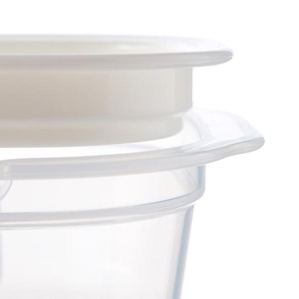 HOME COORDY そのままレンジ保存容器 ご飯一膳用 4個入 商品画像 (3)