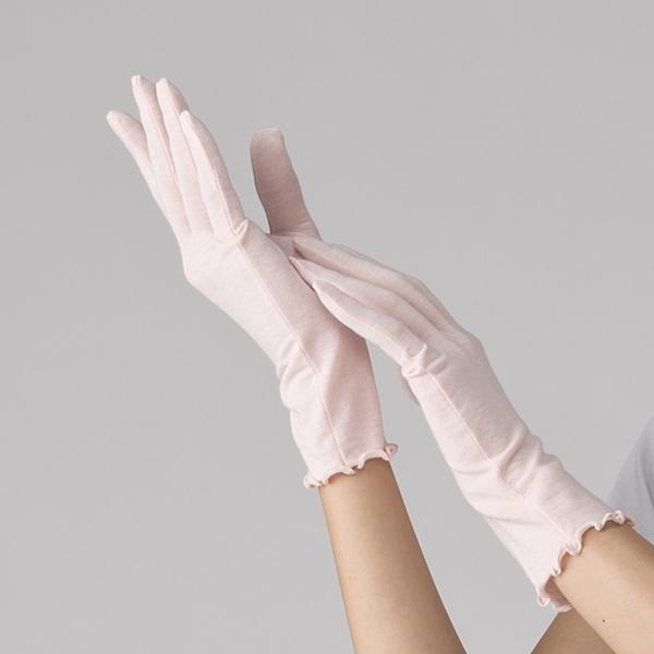 「着る」スキンケア 手袋 商品画像 (メイン)
