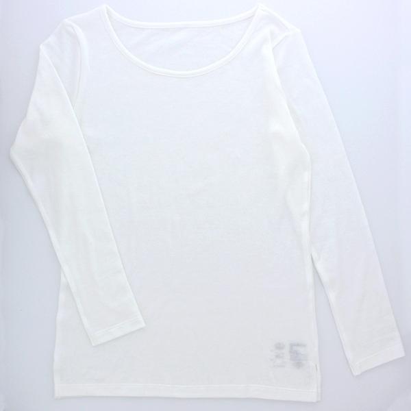 マタニティ長袖クルーネックTシャツ 商品画像 (メイン)