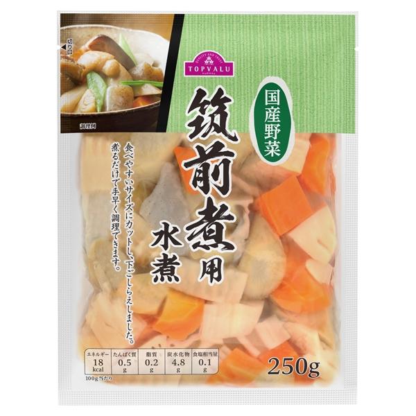 国産野菜 筑前煮用水煮 商品画像 (メイン)