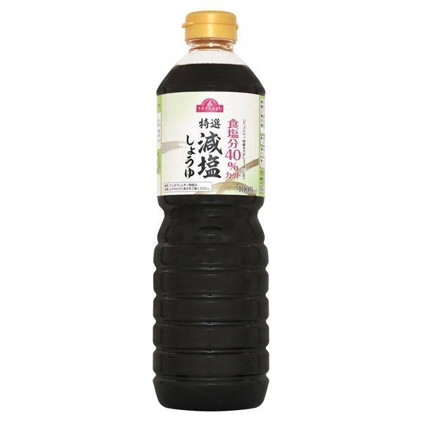 食塩分40%カット 特選 減塩しょうゆ 商品画像 (メイン)