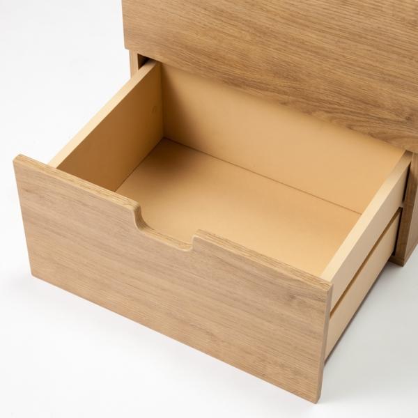 スタッキングボックス 引き出し2段 HOME COORDY 商品画像 (0)