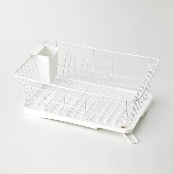 水切りバスケット 水が流れるトレー付 HOME COORDY 商品画像 (メイン)