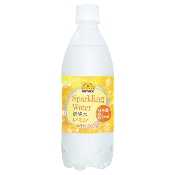 Sparkling Water 炭酸水 レモン