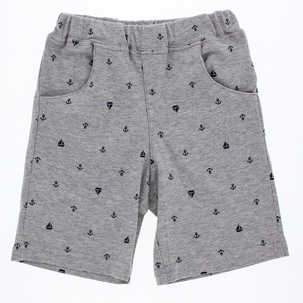 オーガニックコットン 総柄パンツ 商品画像 (メイン)