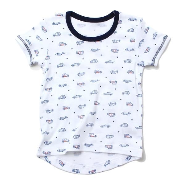オーガニックコットン 半袖シャツ