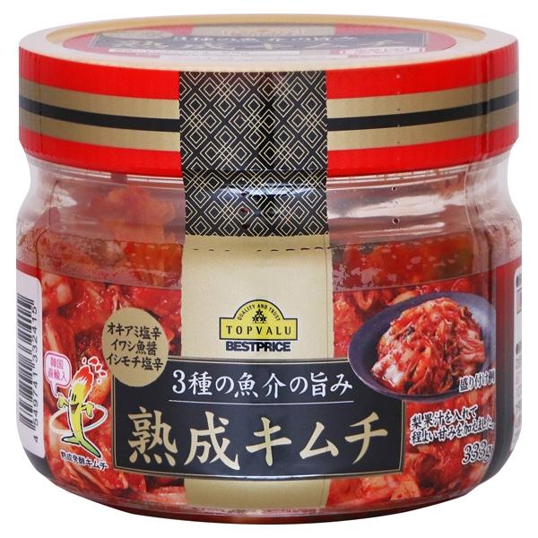 3種の魚介の旨み 熟成キムチ 韓国直輸入 商品画像 (メイン)