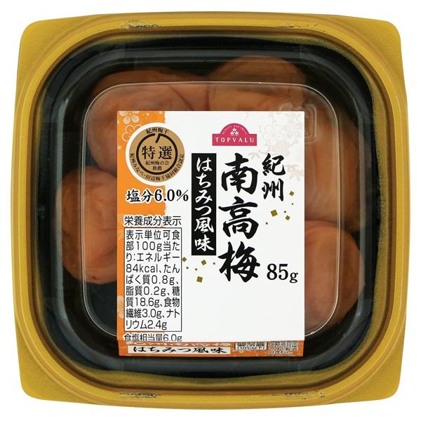 紀州南高梅 はちみつ風味 商品画像 (メイン)