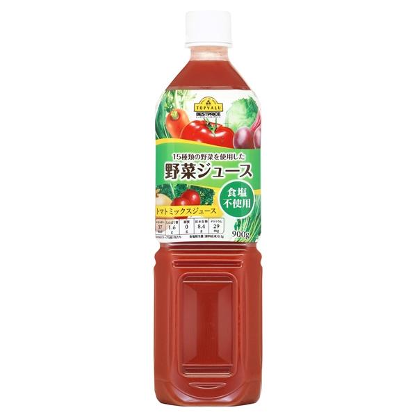 15種類の野菜を使用した 野菜ジュース 食塩不使用 トマトミックスジュース