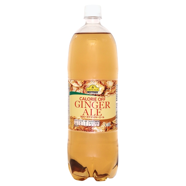 CALORIE OFF GINGER ALE カロリーオフ ジンシャーエール 商品画像 (メイン)