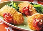第1位 純輝鶏むね肉スライスのミラノ風カツレツ レシピ画像