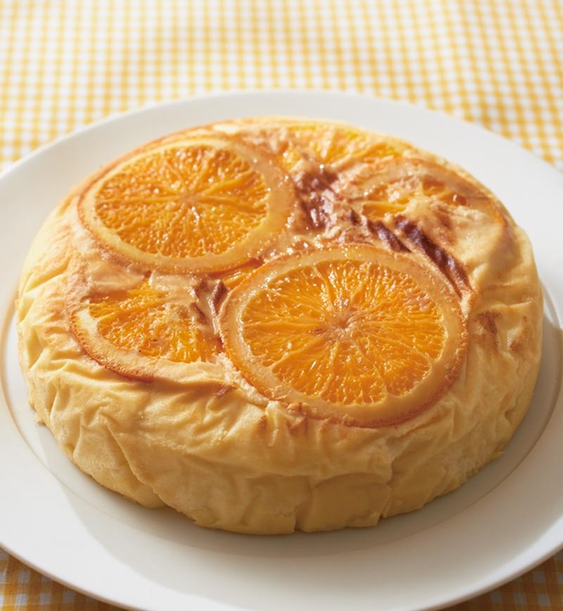 オレンジ風味の スフレケーキ レシピ画像