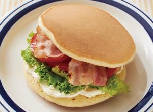 ホットケーキバーガー レシピ画像