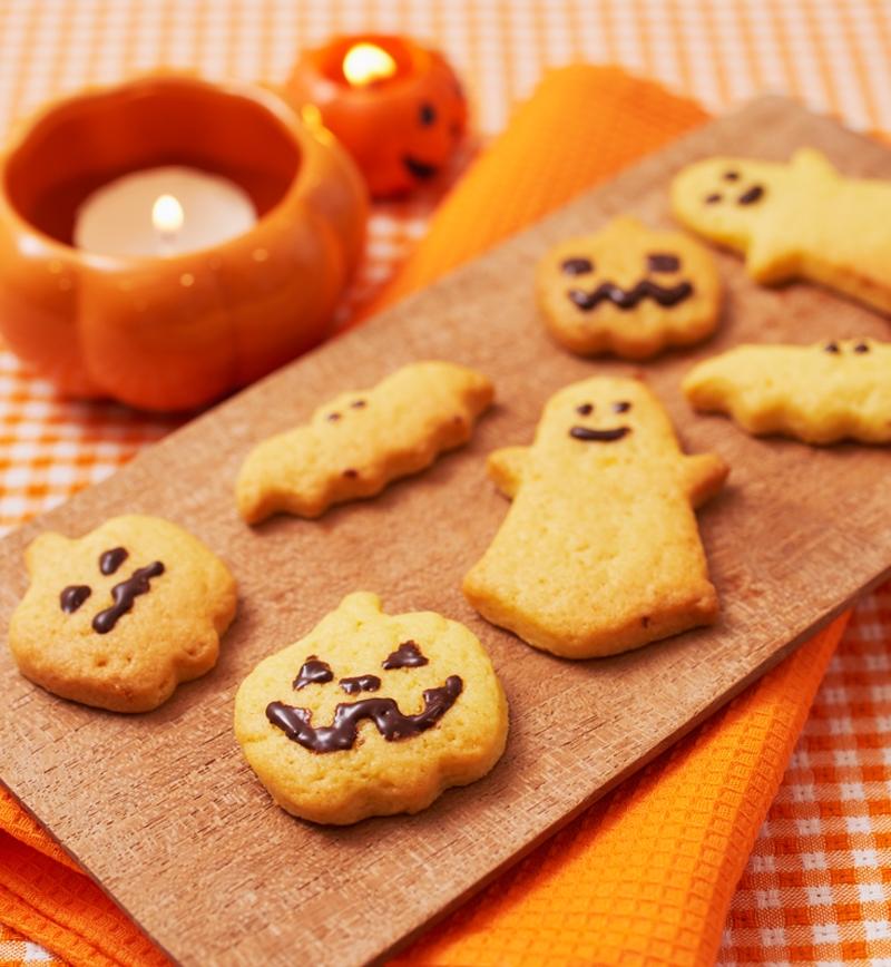 ハロウィンクッキー レシピ画像