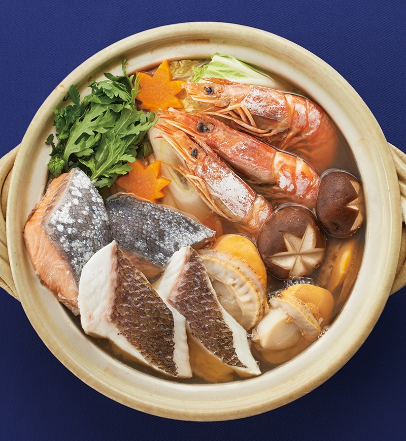 ごちそう海鮮鍋 レシピ画像