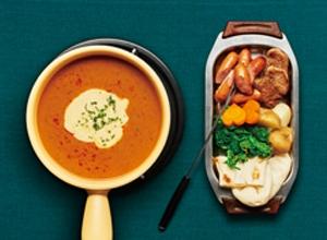 印度風チーズカレーフォンデュ レシピ画像