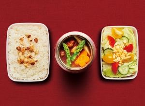 春野菜の欧風お弁当カレー レシピ画像