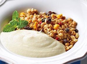 とろ~り豆腐の朝食グラノーラ レシピ画像