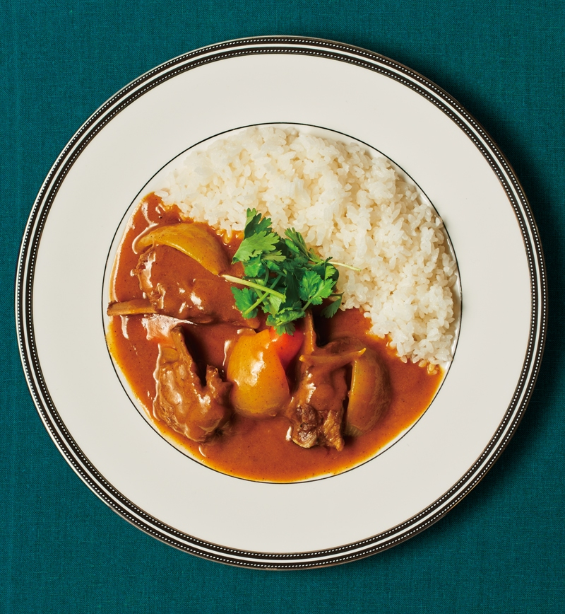 スペアリブの印度風スパイスカレー レシピ画像