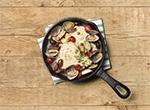 スキレットで作る アクアパッツア レシピ画像