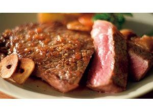 タスマニアビーフステーキ 和風たまねぎソース レシピ画像