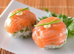 手まり寿司 レシピ画像