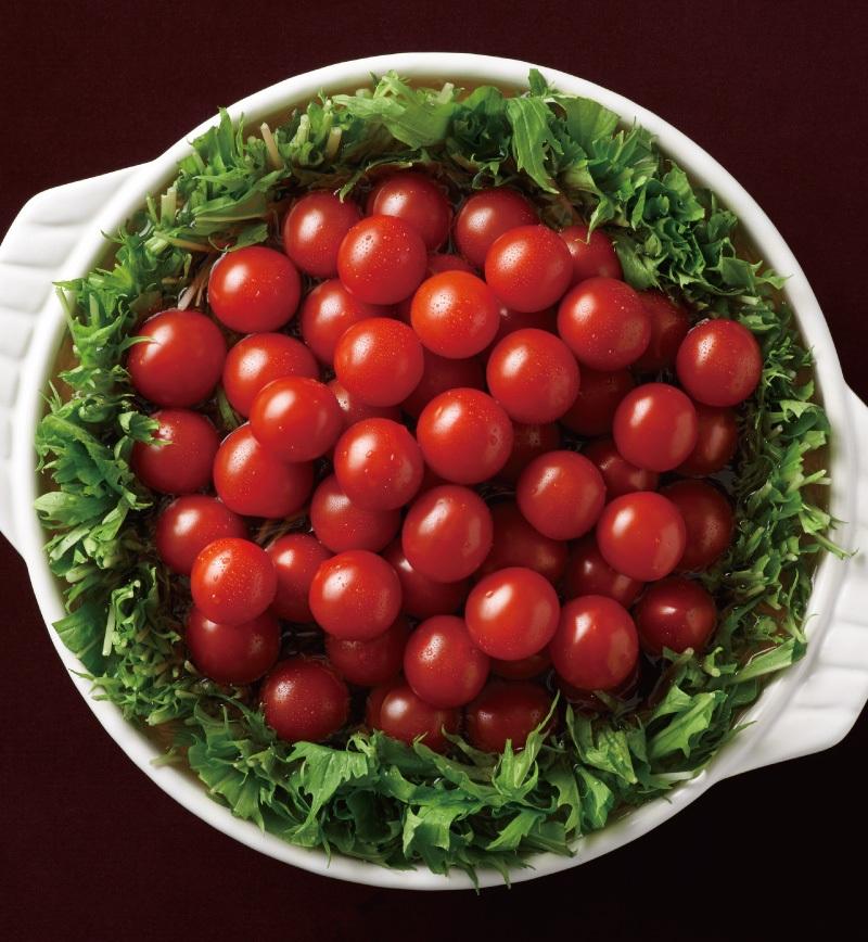 トマト鍋 レシピ画像