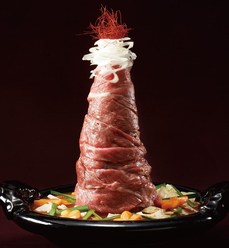 山盛り肉鍋 レシピ画像
