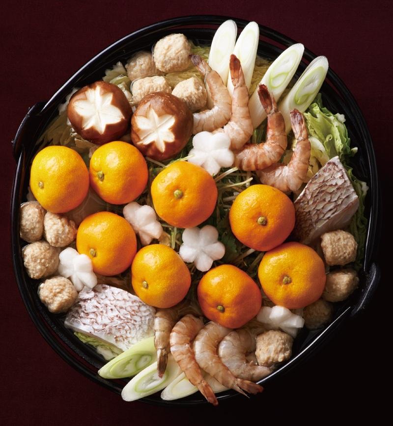 みかん鍋 レシピ画像