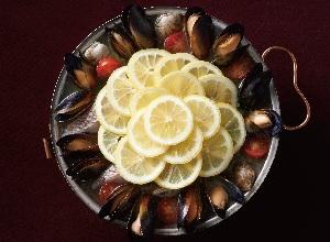 レモンのアクアパッツァ レシピ画像