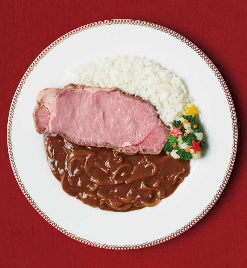 ローストビーフの欧風カレー レシピ画像