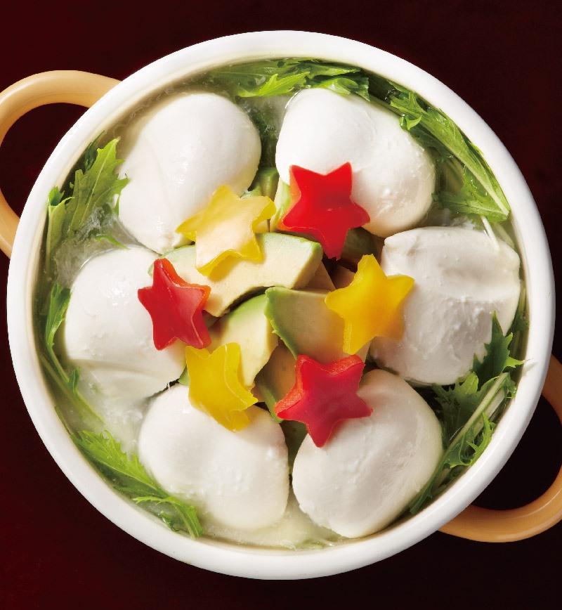 とろけるモッツァレラ鍋 レシピ画像