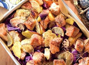 サーモンのぎゅうぎゅう焼き レシピ画像