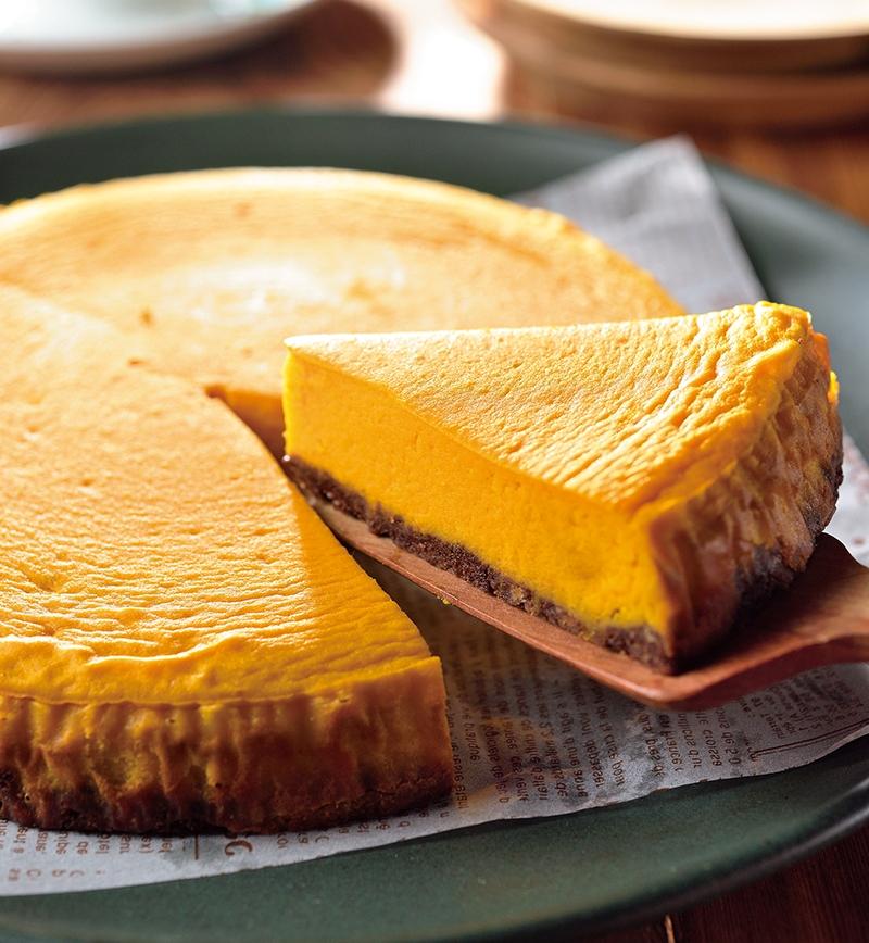 かぼちゃのヨーグルトケーキ レシピ画像