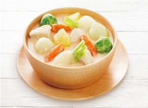 コロコロ野菜のホワイトシチュー レシピ画像