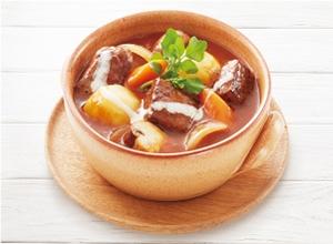 お肉ゴロゴロビーフシチュー レシピ画像