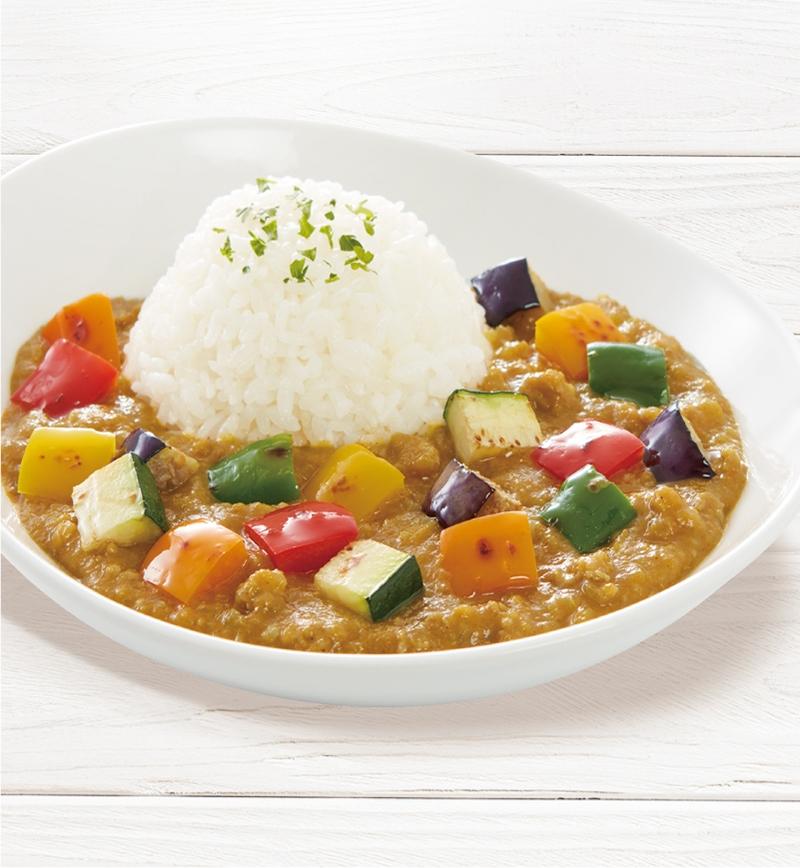 彩り野菜たっぷりカレー レシピ画像