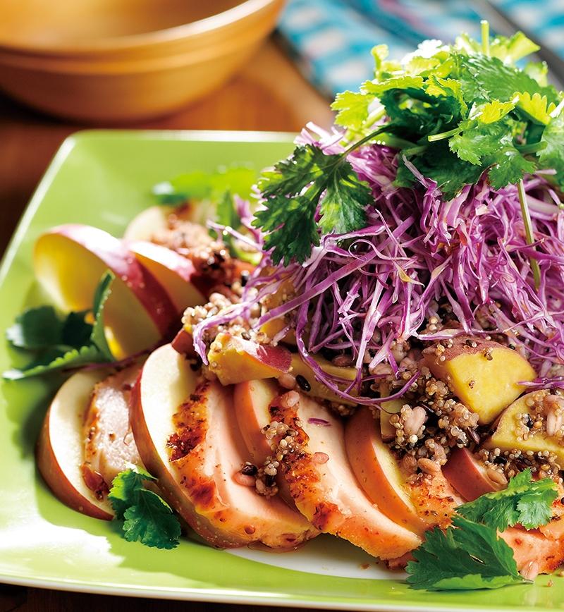 プライムローストチキンのパワフルサラダ レシピ画像
